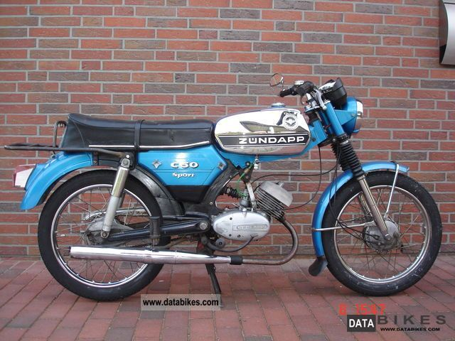 Zundapp  Zündapp C 50 sports 1975 Vintage, Classic and Old Bikes photo