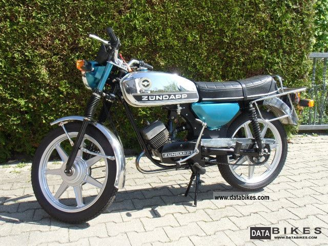 Zundapp  Zündapp GTS 50 1978 Vintage, Classic and Old Bikes photo