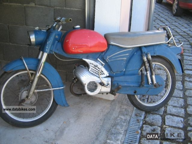 1963 Zundapp  Zündapp sports Combinette Motorcycle Motor-assisted Bicycle/Small Moped photo