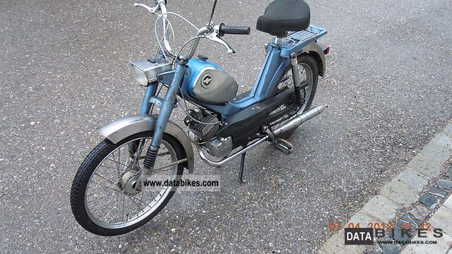 Zundapp  Zundapp Moped Type 248-40 1975 Vintage, Classic and Old Bikes photo