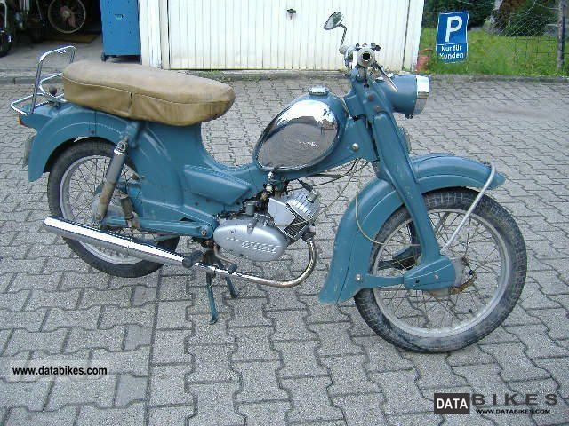 Zundapp  Zundapp super nice combination 1964 Vintage, Classic and Old Bikes photo