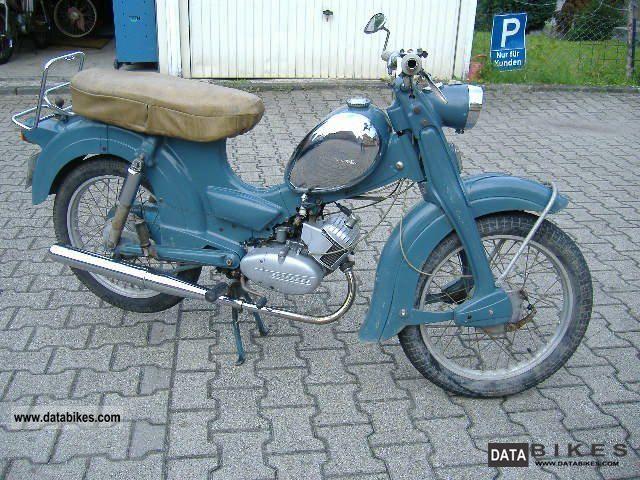Zundapp  Zundapp super nice combination 1964 Vintage, Classic and Old Bikes photo