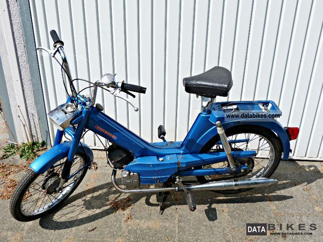 1972 Zundapp  Zündapp 442-16 Automatic Motorcycle Motor-assisted Bicycle/Small Moped photo