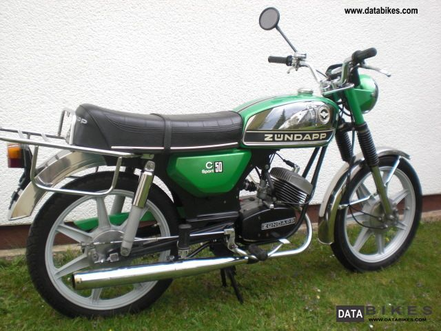 Zundapp  Zündapp c 50 sports 1978 Vintage, Classic and Old Bikes photo