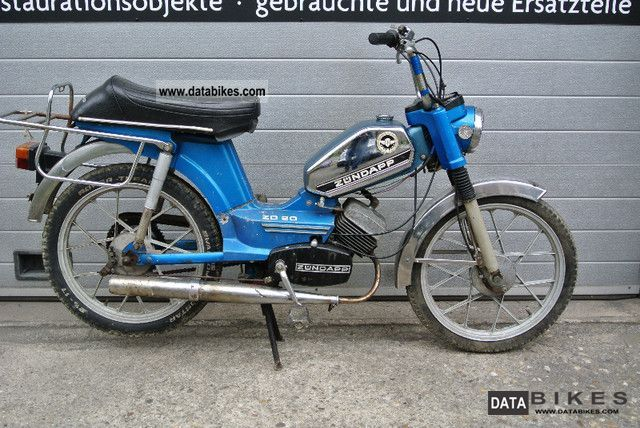 Zundapp  Moped Zundapp ZD20 as ZR ZR ZA CS GTS Flory Prima 3 4 5 1979 Vintage, Classic and Old Bikes photo