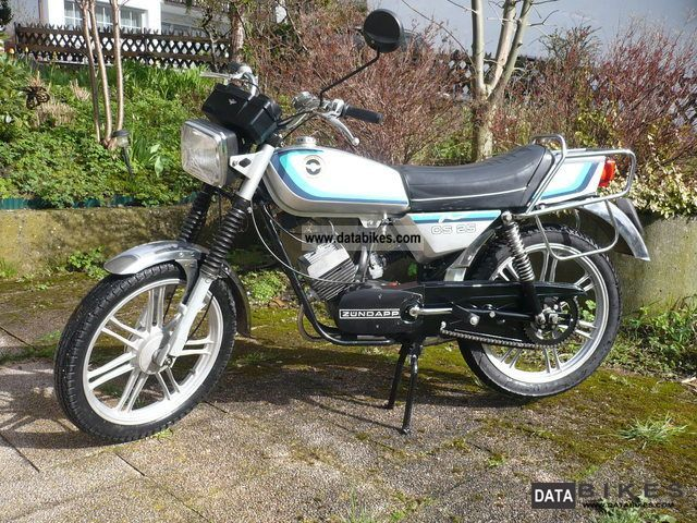 1984 Zundapp  Zundapp CS25 Motorcycle Motor-assisted Bicycle/Small Moped photo