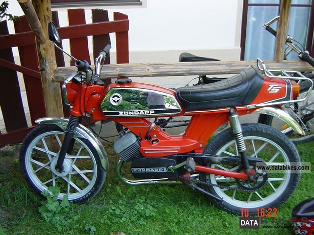 1974 Zundapp  Zündapp ZD 25 TS Motorcycle Motor-assisted Bicycle/Small Moped photo