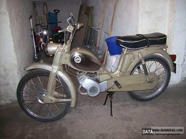 Zundapp  Zundapp Moped Type 434 021 25 1970 Vintage, Classic and Old Bikes photo