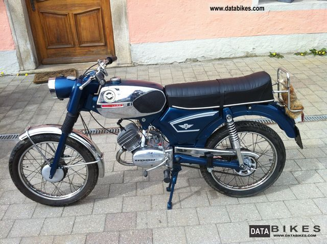 Zundapp  Zündapp C50 SPORT MODEL 517 1969 Vintage, Classic and Old Bikes photo