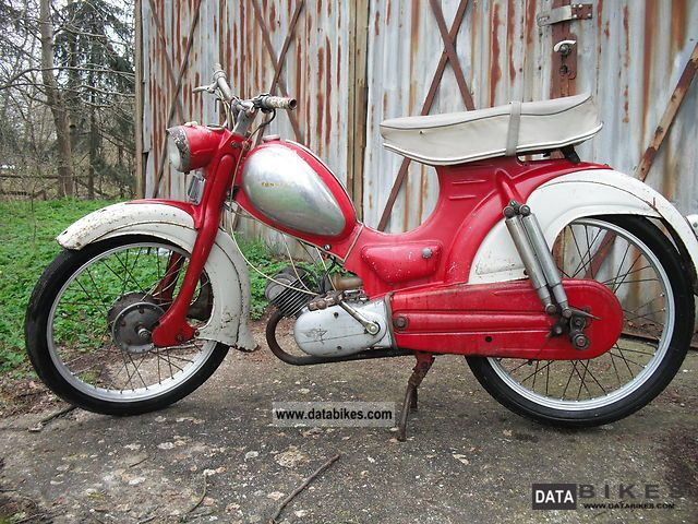 Zundapp  Zündapp 3-speed super-Combinette Ausf.C 1959 Vintage, Classic and Old Bikes photo