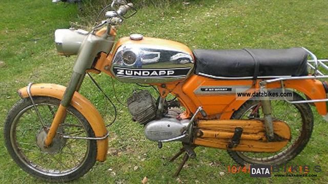 1974 Zundapp  C50 Sport Zundapp Motorcycle Motor-assisted Bicycle/Small Moped photo