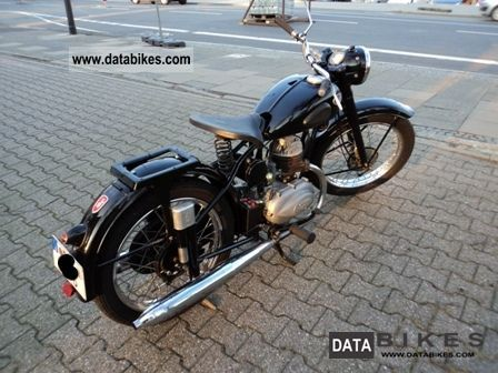 Zundapp  Zundapp DB203 1953 Vintage, Classic and Old Bikes photo