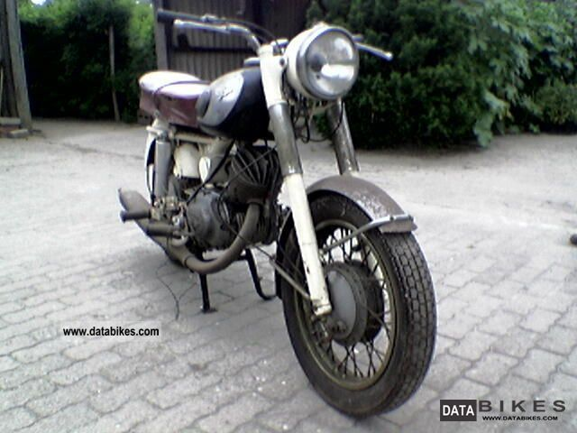 Zundapp  Zündapp DB200S 1956 Vintage, Classic and Old Bikes photo