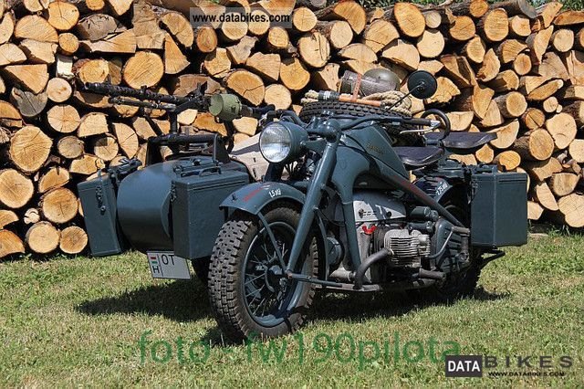 Zundapp  Zundapp KS-750 1943 Vintage, Classic and Old Bikes photo