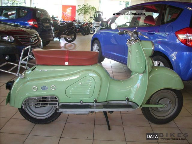 1956 Zundapp  Zundapp Bella 201 Motorcycle Scooter photo