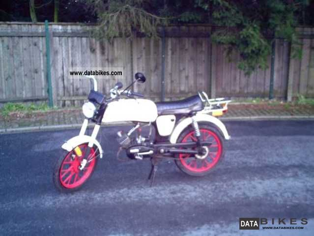 Zundapp  Licensed Zündapp MARS SOLO MOFA-MS-25-SPORT-rarity-1A 1977 Vintage, Classic and Old Bikes photo