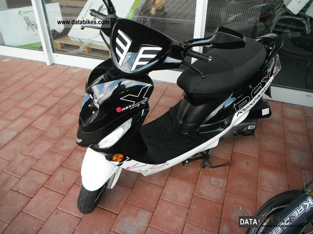 2008 Other  50cc scooters Scooter REX 500 only 749km from 2008 Motorcycle Scooter photo