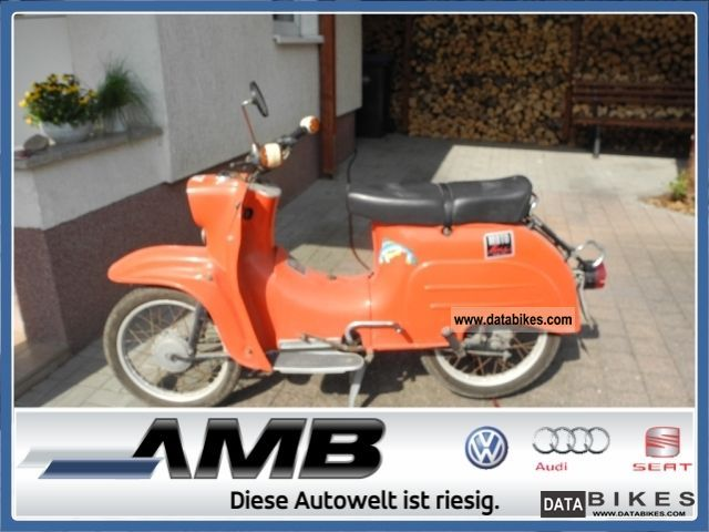 1981 Other  Simson Motorcycle Motor-assisted Bicycle/Small Moped photo
