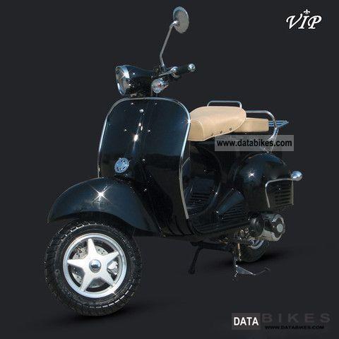 2011 micon vip retro scooter 50 125 151 no vespa. Black Bedroom Furniture Sets. Home Design Ideas