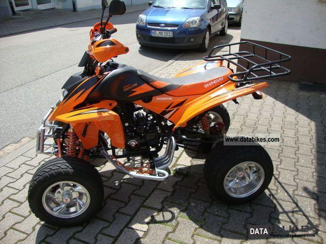 2011 Shineray Quad Stxe 250