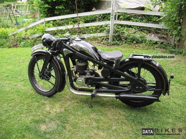 Other  Zündapp DK 200 1934 Vintage, Classic and Old Bikes photo