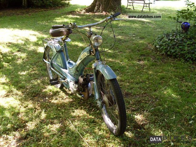 Other  Victoria moped Vicky3 1955 Vintage, Classic and Old Bikes photo