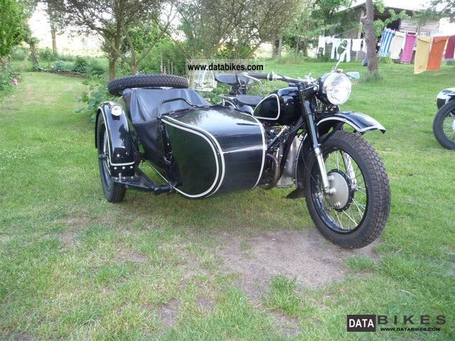 1960 Other  Chang Jiang SV Motorcycle Combination/Sidecar photo