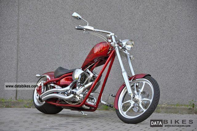 2008 Custom Big Dog Motorcycles Ridgeback