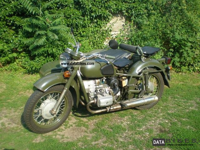 1993 Other  Dnepr MT 11 Motorcycle Combination/Sidecar photo