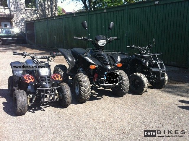 2011 Other  1x200cmm Quad and Quad Package price 2x50ccm children Motorcycle Quad photo