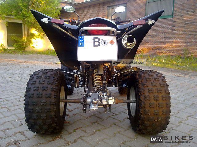 2008 Hisun Hs350    Yamaha Raptor 350