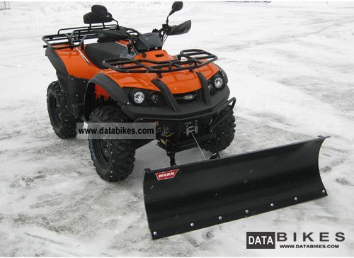 Other  TGB Blade 325 4x2 with snow plow model 2012 2011 Quad photo