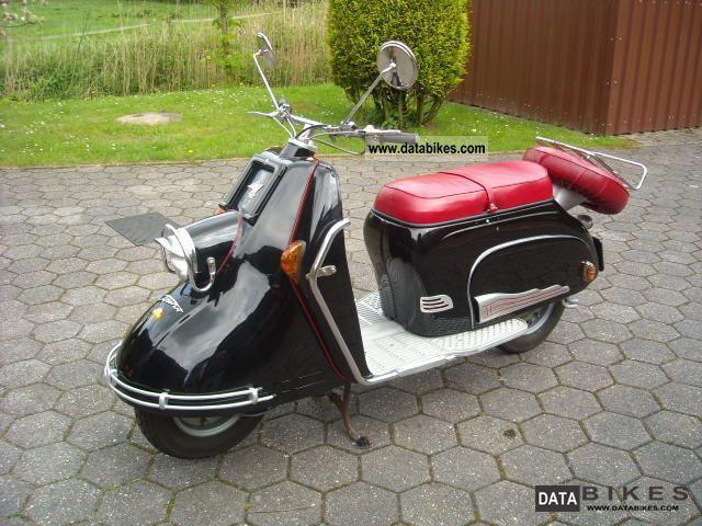 Other  Heinkel 103A-O 1955 Vintage, Classic and Old Bikes photo