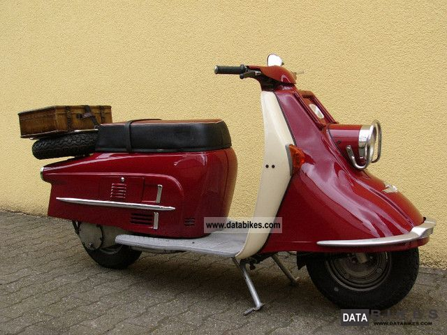 Other  Heinkel Tourist 103 A-2-restored / E-parts 1961 Vintage, Classic and Old Bikes photo