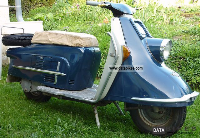 Other  Heinkel Tourist 103 A2 1961 Vintage, Classic and Old Bikes photo