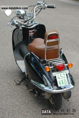 2010 Zn50q T E Mod Retro Scooter