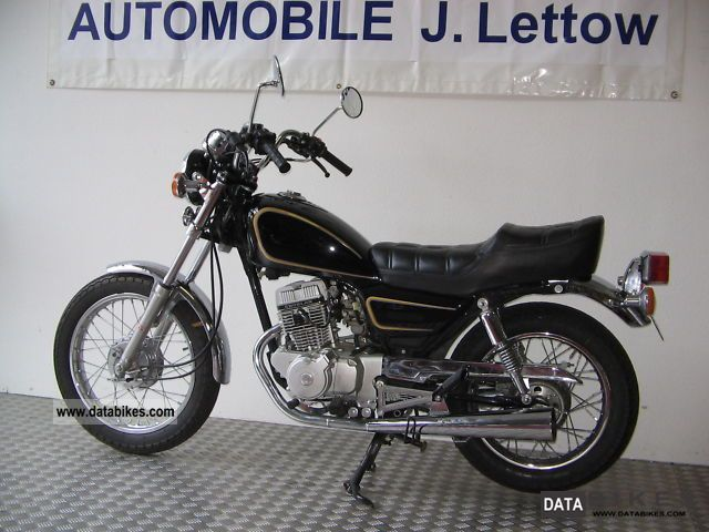 1998 Other  Chun Lan CL125-3 is only 2242 km Motorcycle Chopper/Cruiser photo