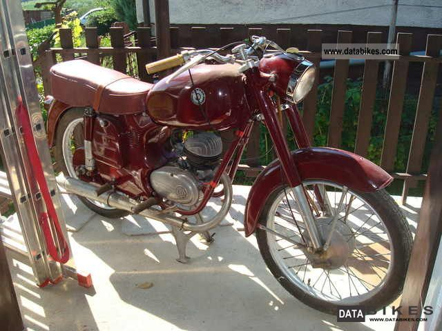 Other  Danuvia DV-125 1960 Vintage, Classic and Old Bikes photo