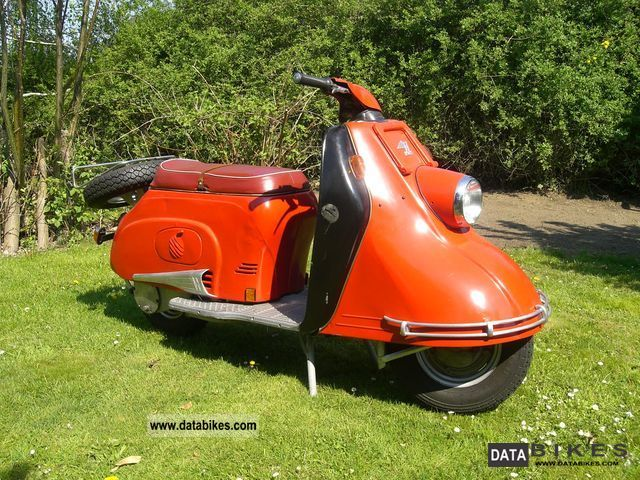 Other  Heinkel Roller Tourist 103 A-1 1960 Vintage, Classic and Old Bikes photo