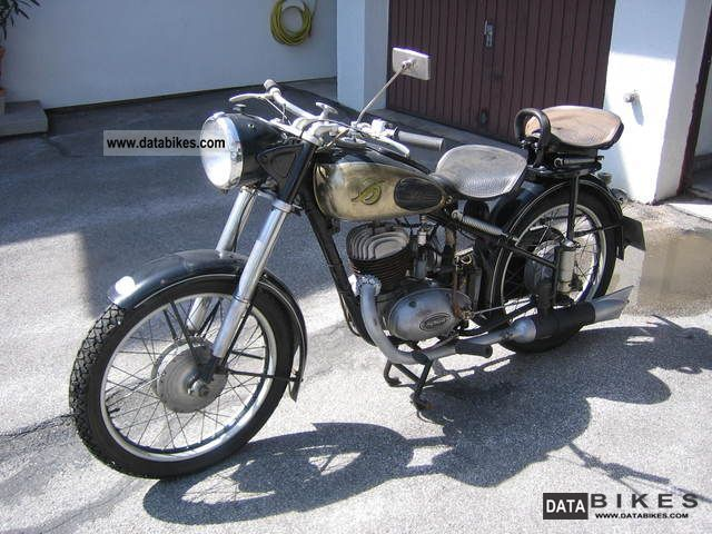 Other  Hofmann 200 cc 1953 Vintage, Classic and Old Bikes photo