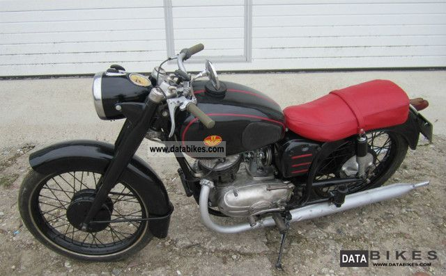Other  Pannonia 1961 1961 Vintage, Classic and Old Bikes photo