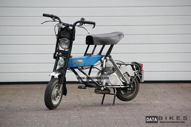 1982 Other  Di Blasi R7ST Faltmokick Motorcycle Motor-assisted Bicycle/Small Moped photo
