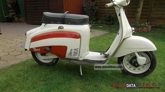 Other  Capri vintage scooter to sell 50 1971 Vintage, Classic and Old Bikes photo