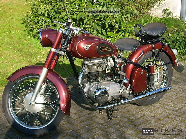Other  Horex Regina 1954 Vintage, Classic and Old Bikes photo