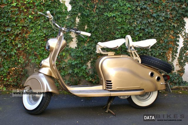 Other  Lambretta 125cc NSU 1952 1952 Vintage, Classic and Old Bikes photo