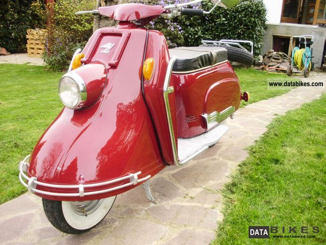 Other  Heinkel Tourist 103 A0 1956 Vintage, Classic and Old Bikes photo