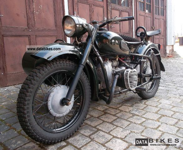 Other  Dnepr K 750 solo car with German letter 1959 Vintage, Classic and Old Bikes photo