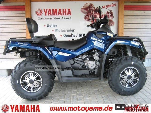 2011 Other  CAN AM Outlander 800 MAX XT LTD, a new model Motorcycle Quad photo