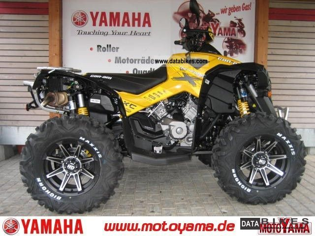 2011 Other  CAN AM Renegade XxC 1000, new model 2012-spec Motorcycle Quad photo