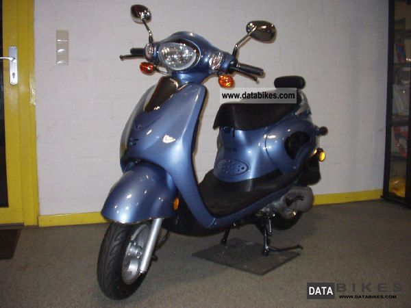 Other  Benzhou YY125T-25 LPG GAS 2008 Scooter photo